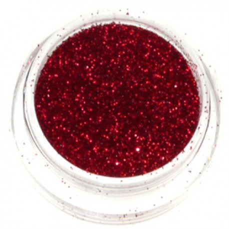 Pot paillettes ROUGE